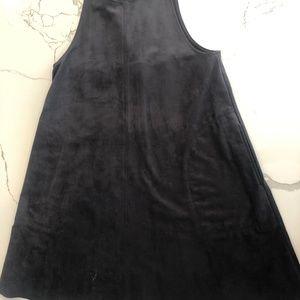 Aritzia Dresses - Aritzia Trapeze Vegan Suede Dress